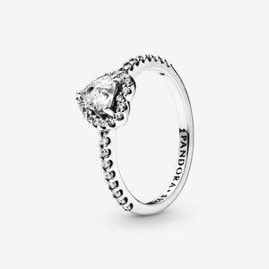🔥PANDORA Elevated Heart Ring